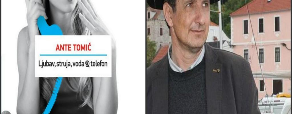 """Čitateljski klub """"Luna"""": rasprava o knjizi """"Ljubav, struja, voda & telefon"""" Ante Tomića"""