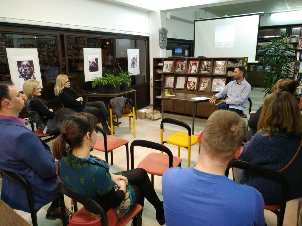 Književni susret u Područnoj knjižnici Galženica