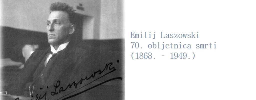 70. obljetnica smrti Emilija Laszowskog – povjesničara Plemenite općine Turopolje