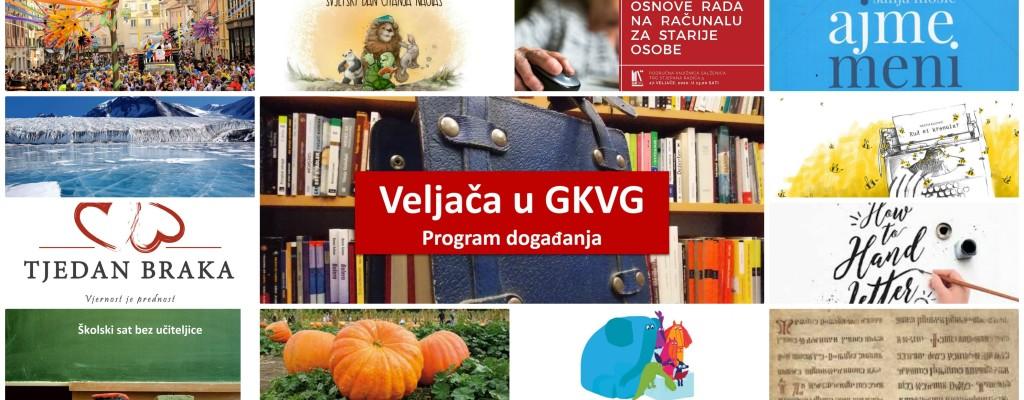 Program događanja u Gradskoj knjižnici Velika Gorica u veljači 2020.