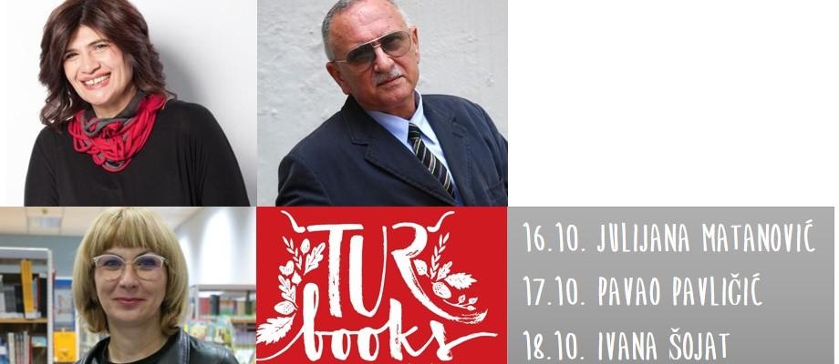 Književni susreti s Julijanom Matanović, Pavlom Pavličićem i Ivanom Šojat na Turbooksu