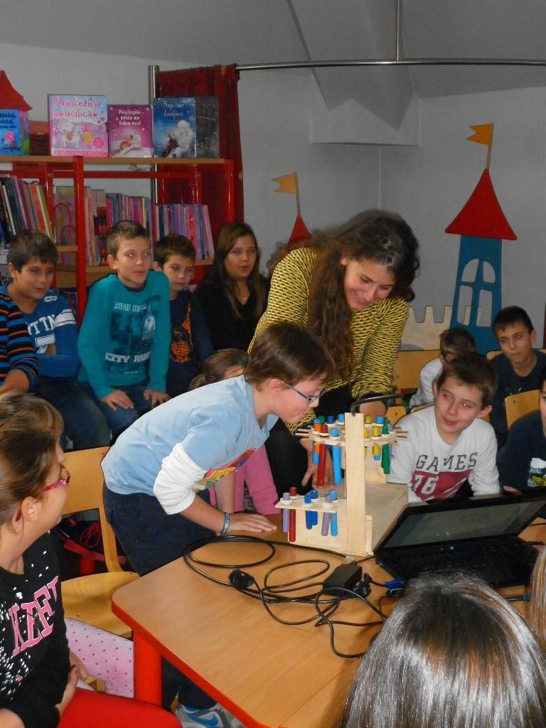Znanstvene radionice s djecom