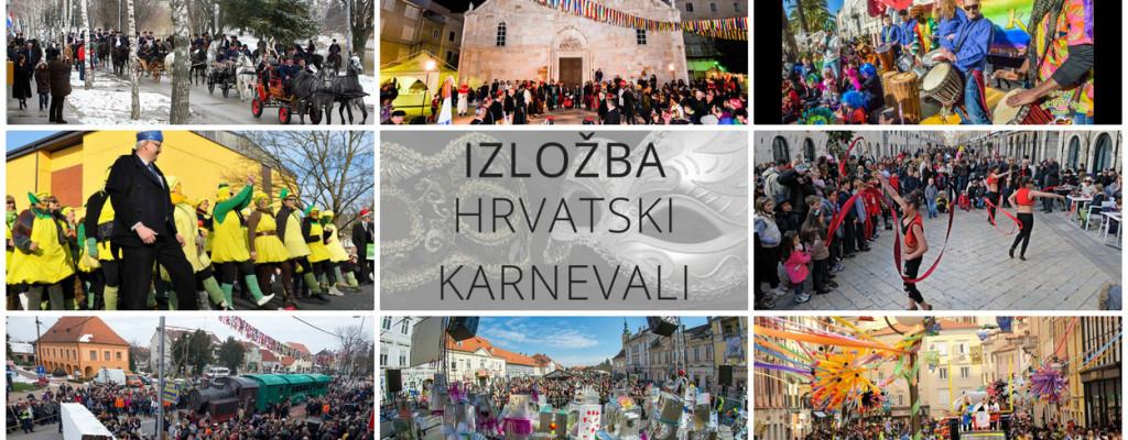 Hrvatski karnevali – izložba