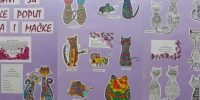 Ljubavi su đačke poput miševa i mačke – izložba dječjih radova