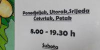 Redovno radno vrijeme knjižnice ponovno od ponedjeljka 2. rujna