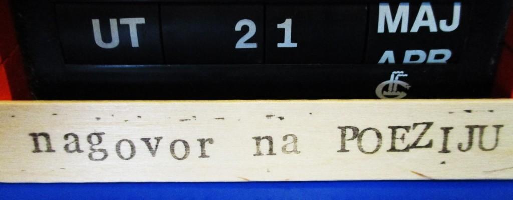 Novi nagovor na poeziju – odabrala Darija Žilić