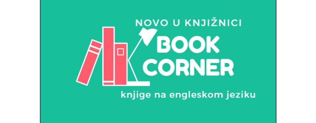 Book corner – posudba knjiga na engleskom jeziku