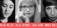 Nagovor na poeziju: susret s pjesnikinjama Monikom Herceg, Lucijom Butković i Lidijom Deduš