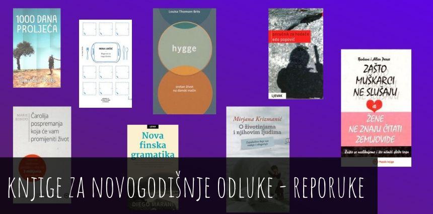 Knjige koje će vas nadahnuti i podržati u provođenju novogodišnjih odluka