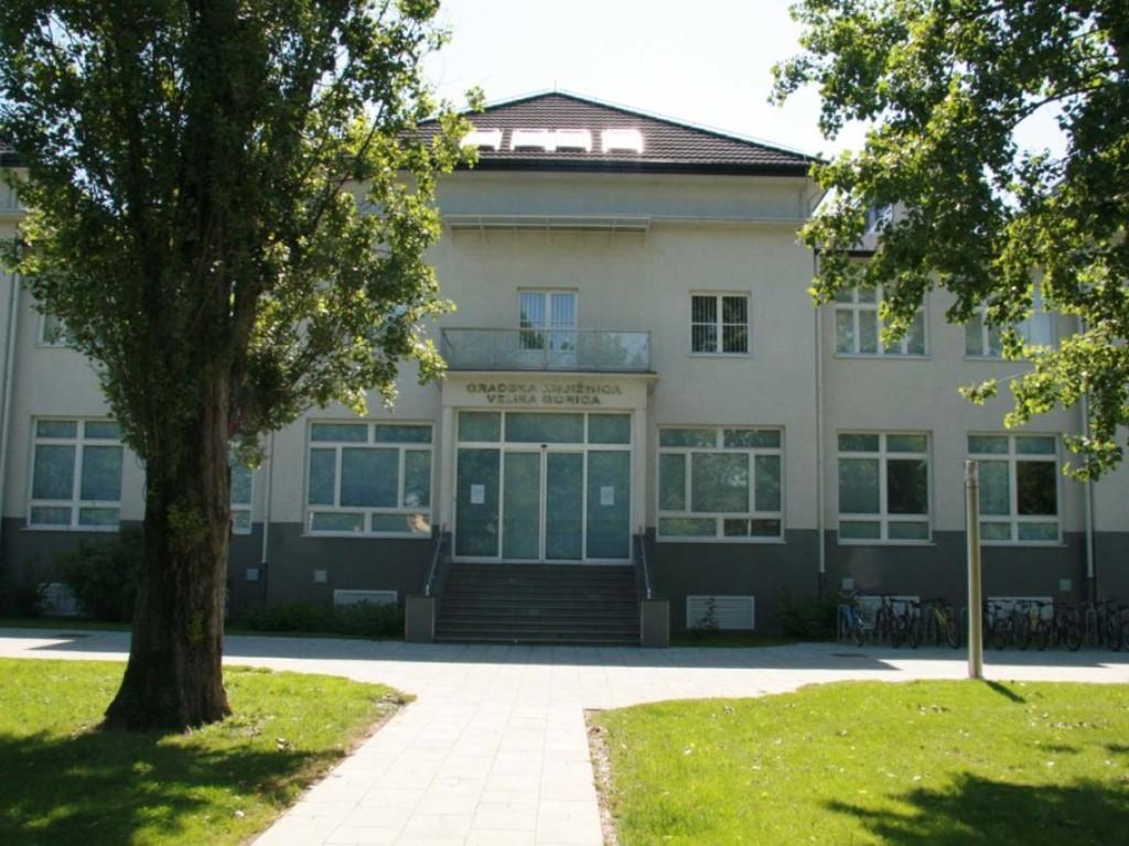 Vanjski izgled zgrade knjižnice